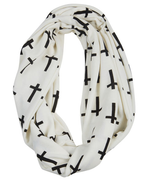 Cross Eternity Scarf - Wet Seal